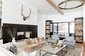 mountain modern furniture. Modern Mountain Home-Studio McGee-07-1 Kindesign Furniture