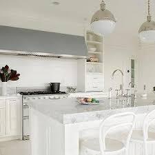 thick princess white quartzite kitchen countertops transitional kitchen