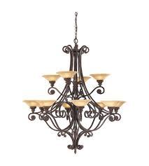 feiss casbah 12 light chandelier in palladio f1719 12pal photo