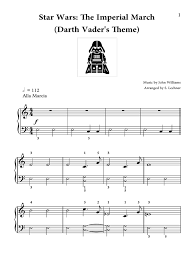 Digital sheet music for cantina band by , dan coates, john williams scored for easy piano; Star Wars Imperial March Big Note Easy Piano In E Minor Pdf Leisure