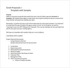 11 Sample Grant Proposals Word Pdf Pages