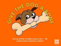 Give The Dog A Bone Mathslinks