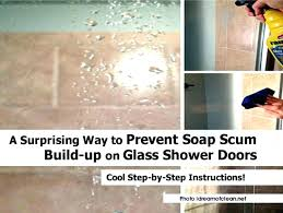 shower door water repellent lovely best way to clean glass shower doors with soap s large