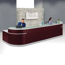 office furniture reception desks large receptionist desk. esquire double glass top reception desk 190 office furniture desks large receptionist i