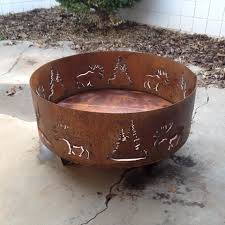 luxury custom steel fire pits pit awesome metal design portable custom steel fire pit u94