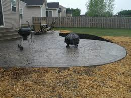 stamped concrete patio with fire pit cost. Large-size Of Piquant Fire Pit Also Stone Texture Poured Where To 1080x808 In Diy Stamped Concrete Patio With Cost O