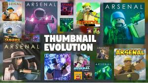 Roblox arsenal codes are very helpful as any other codes in different roblox games. Arsenal Thumbnail Evolution 2019 20 Roblox Arsenal Youtube