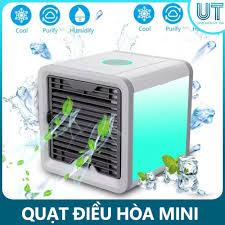 Quạt điều hòa MINI - Làm mát bằng hơi nước tạo độ ẩm an toàn cho sức khỏe,  Giá tháng 11/2020