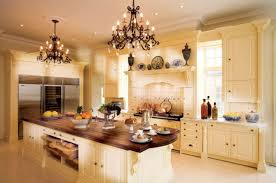 image of small kitchen chandeliers