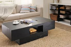 Amazon.com: IoHOMES Lansing Rectangular Coffee Table With Storage, Black:  Kitchen \u0026 Dining Amazon.com