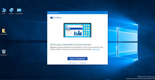 Screenshot On Pc Windows 10 Cloud Storage Save Your Screenshots In The Cloud With Onedrive
