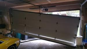how to fix garage door cableGarage Doors  How To Fix Garage Door That Came Off Track Repair