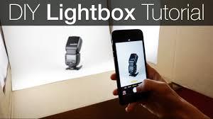 diy light box photography tutorial how to make a lightbox
