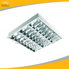 office ceiling lamps. T5 3x14W Fluorescent Office Ceiling Light Fixture Troffer Grille Lamps Led  Factory Sales Credict Insurance