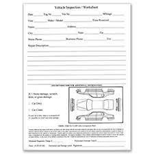 inspection sheet dealermarket vehicle inspection sheet