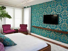 Teal Bedroom Wallpaper Bedroom Accent Wall Wallpaper Metaldetectingandotherstuffidigus