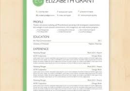 Modern Resume Templates Green Cv Resume Template Free Or Free Modern Graphic Design Resume