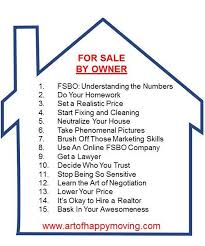 For Sale Or For Sell Fsbo How To Sell Your House By Owner The Art Of Happy Moving