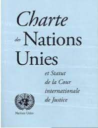 Charte Des Nations Unies Livre De Nations Unies