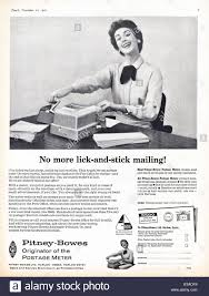Pitney Bowes Postage Meter Rate Chart Advert For Pitney Bowes Franking Machine In Punch Magazine