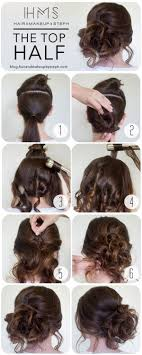 How To The Top Half Hair And Make Up By Steph Tuto Dun