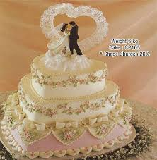 3 Tier Heart Shape Cake Cake Park