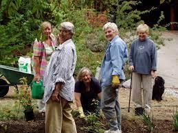 2005 planting Native Plant Habitat Demo – Karin, Glenn, Verity, Pauline,  Beverley
