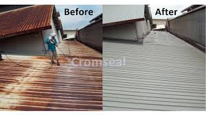 information regarding metal roof painting and coating service and premium aluminium roof coating service for any commercial building in klang valley