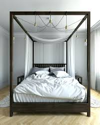 Modern Canopy Beds Modern Canopy Bed Brilliant Four Poster Canopy ...