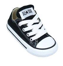 converse shoes for girls high cut black. converse chuck taylor ox black white infant toddler boy girl shoes size 2-10 for girls high cut