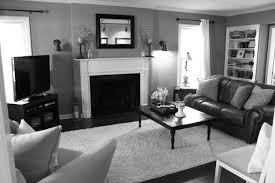 Comfortable Black And White Living Rooms On Room With Small Ideas