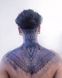 Everybody Must Have A Fantasy Tattoos Nape Tattoo Tattoos Neck