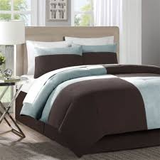 Light Blue And Brown Decor Bedroom Magnificent Brown White And Blue Bedroom Home Decor
