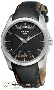 tissot couturier t035 407 16 051 01 men s stainless steel tissot couturier automatic men s watch stainless steel black dial t035 407 16