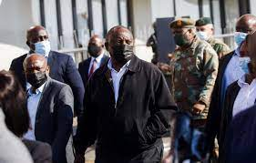 South Africa has identified alleged ...