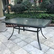 glass patio table glass patio table pebble lane living throughout top dining plan 3 replacement glass