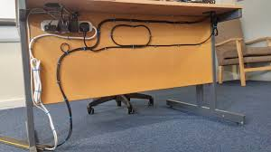 office cable tidy. Desk With Built In Cable Management Best Of Tech Notes Ikea Bekant Sitstand Update An Office Tidy