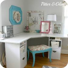 bedroom craft room corner desk this would be cute in the guest bedroom with engaging