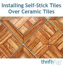 orange floor tiles design