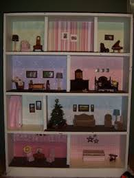 bookcase dollhouse cheap way to make your kids a doll house diy affordable dollhouse furniture