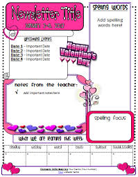 february newsletter template newsletter template clipart