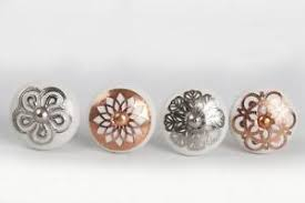 copper door knobs. image is loading white-copper-silver-ceramic-drawer-pull-cupboard-china- copper door knobs b