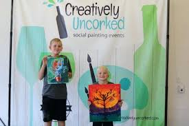 fargo paint and glass open studio creatively uncorked downtown fargo paint and glass bismarck