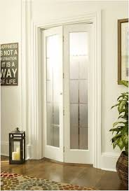 bi fold doors with frosted glass