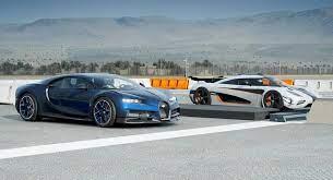 What you should know about the bugatti chiron's tech. Drag Race Bugatti Chiron Vs Koenigsegg One 1