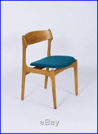 vine mid century danish model 49 dining chair by erik buch for o d møbler