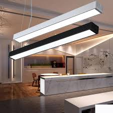office chandeliers. Office Lights Hanging Line Light Can Be Stitched Lamp Modern Simple Chandeliers Bar L