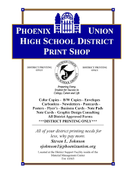 Purchasing Division Print Shop