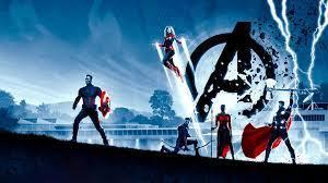 Avengers: Endgame Thor Captain America ...