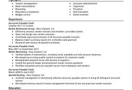Accounts Payable Specialist Resume Accounting And Finance Ava Simple